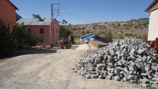 Hozat'ta Kilitli Parke Çalışmaları devam ediyor