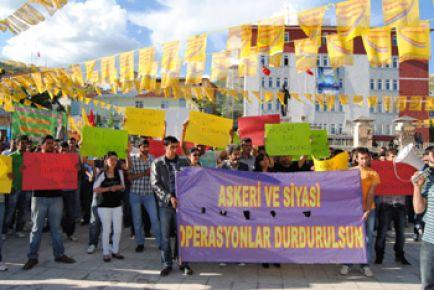 Tunceli'de 5 kişi gözaltına alındı