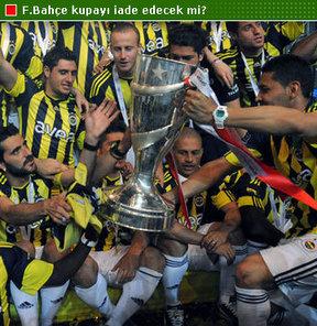 Fenerbahçe kupayı iade etmiyor