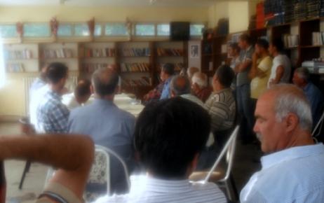 Mazgirt Belediyesi Halk Toplantısı Yaptı