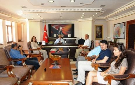 Nevşehir'den ziyaret