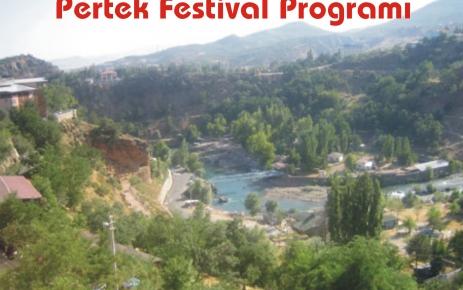 Pertek festival programı