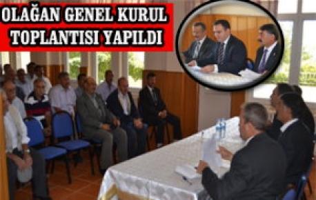 ÇEMİŞGEZEK'TE GENEL KURUL TOPLANTISI