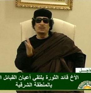 Kaddafi, NATO'ya meydan okudu