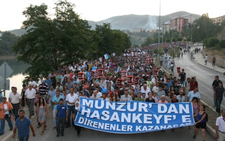 Tunceli'de Çevre Yürüyüşü