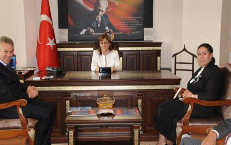 Bakan Şahin, Tunceli'ye geldi