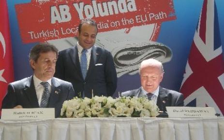 Türk Yerel Medyası AB Yolunda Seminerlerinin Dördüncüsü Elazığ'da Yapılacak