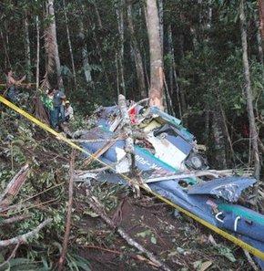 Kargo uçağı düştü