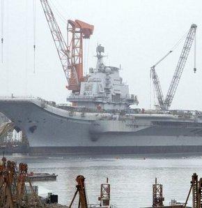 ABD Çin'den uçak gemisi izahı bekliyor!