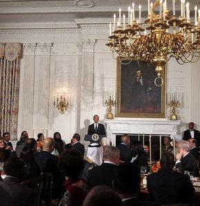 Beyaz Saray'da iftar vakti