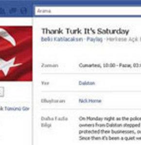 Türklere teşekkür kampanyası