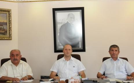 OSB değerlendirme toplantısı yapıldı