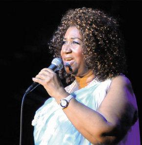 Aretha Franklin için özel kutlama