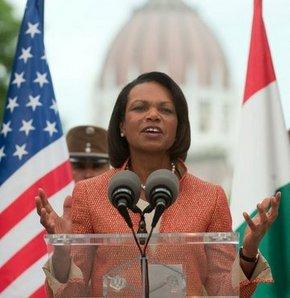 Kaddafi Condoleezza Rice'ı çok seviyorum