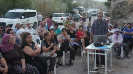 Tunceli Belediyesinin mahalle toplantıları devam ediyor