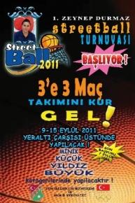 1.Zeynep Durmaz Sokak Basketbol Turnuvası Başlıyor