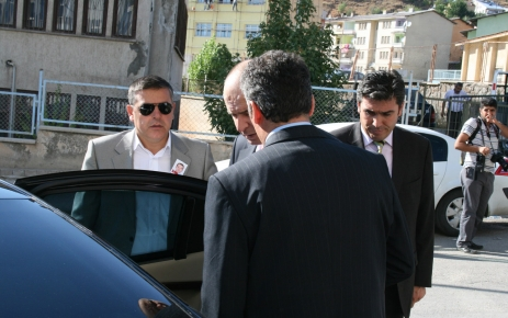 Emniyet Genel Müdürü Tunceli'ye geldi