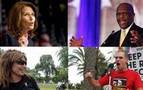 Obama'nın siyahi, eşcinsel ve kadın rakipleri