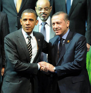Obama'dan Erdoğan'a tebrik