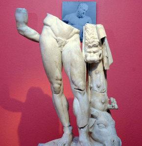 Yorgun Herakles'in hasreti sona eriyor
