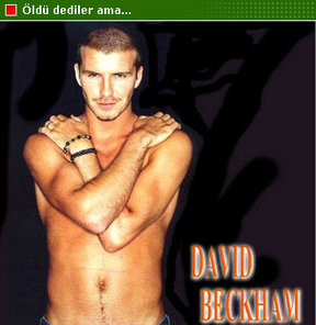 Beckham öldü iddiası!