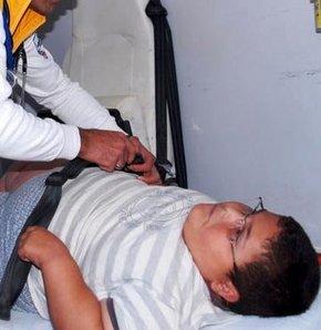 7 yaşında 70 kilo olan çocuk tedaviye alındı