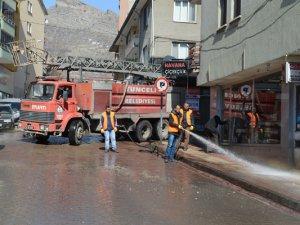 Tunceli Belediyesinden temizlik çalışmaları