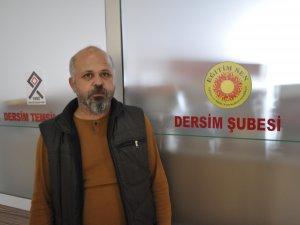 """Eğitim Sen Şube Başkanı Güler: """"İhraç oranı en yüksek il Dersim"""""""