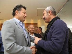 Maçoğlu'ndan, Bodrum Belediye Başkanı'na ziyaret