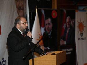 Ak Parti İl Başkanı Tek'ten Bakan Soylu'ya teşekkür mesajı