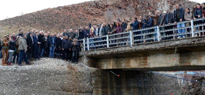Dersim'de Baraj ve Hes Protestosu