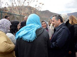 Vali Kaymak'tan 'Gole Çetu'ya ziyaret