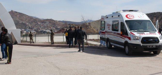 Dersim'de çatışma: 1 asker yaralı