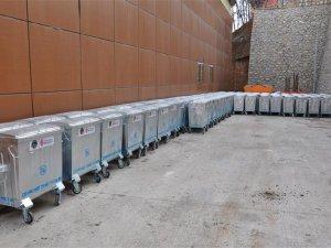 Tunceli Belediyesine 125 Adet Çöp Konteyneri Hibe Edildi