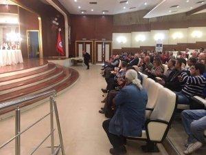 Belediye Başkanı Polat, panele katıldı