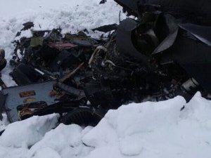 Tunceli'de helikopter düştü: 12 kişi yaşamını yitirdi