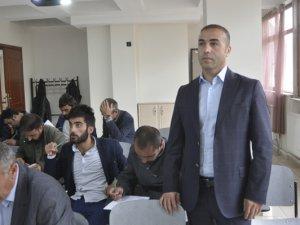 Tunceli'de riskli meslekte çalışanlara iş güvenliği kursu veriliyor VİDEO HABER