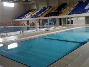 Yarı Olimpik Yüzme Havuzu hizmete girdi