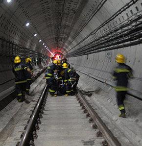 Çin'de metronun güvenliği tartışılıyor