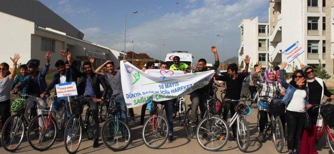 Sağlıklı yaşam için bisiklet turnuvası