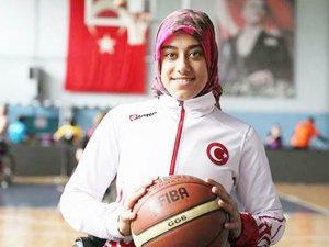 Çemişgezekli Rabia A Milli Basketbol Takımında