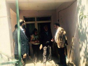 İl Başkanı Tek'ten Engelli vatandaşlara ziyaret