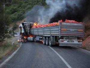 PKK, araç yaktı