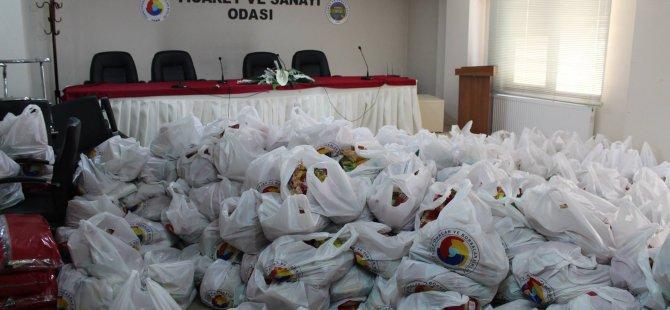 TSO'dan bin aileye yardım