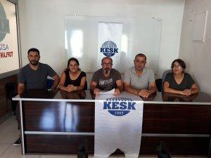 KESK Dersim Şubeler Platformu: Orman yangınlarına müdahale edilsin