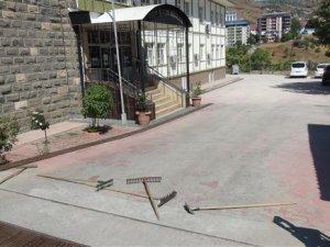 HDP Milletvekili ve çevrecilerden protesto eylemi