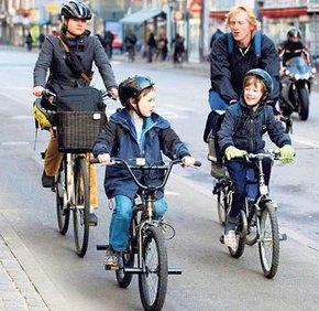 Kişi başına 2 bisiklet düşen kent Kopenhag