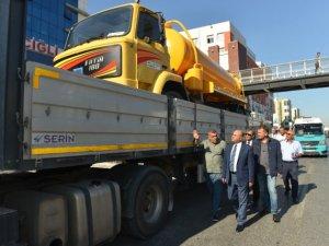 Çiğli'den Ovacık Belediyesi'ne araç hibesi