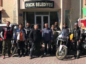Ovacık'ta motosiklet festivali düzenleyecekler
