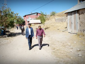Kaymakam Kazez'den köylere ziyaret
